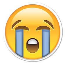 Crying Emoji PNG Clipart
