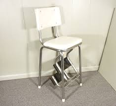 Cosco Counter Chair Step Stool by Vintage Kitchen Step Stool Chair Today