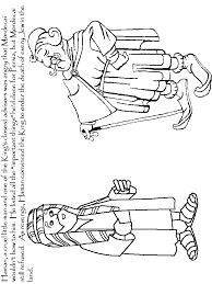Esther6 Bible Coloring Pages