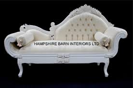 Ebay Chaise by White Cream Chateau French Style Designer Ornate Chaise Longue