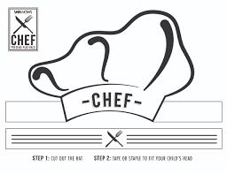 Chef Hat Cutout