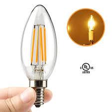 leadleds 4w candelabra led bulb 40 watt equivalent