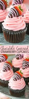 All About Cupcakes Chocolate Covered Strawberry