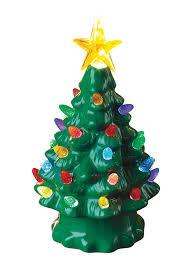Lighted Ceramic Christmas Tree Loading Zoom