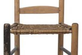 Recane A Chair Seat by Repairing Ladder Back Chairs Home Guides Sf Gate