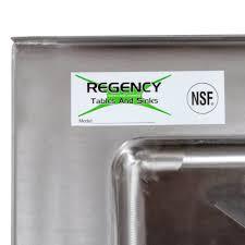 Plastic Corner Mop Sink by Regency 25