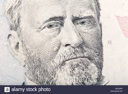 US President Ulysses S Grant On The Fifty Dollar Bill