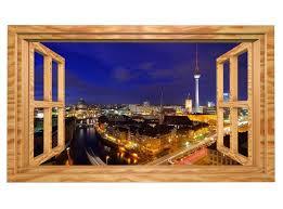 3d wandmotiv berlin skyline fenster stadt bildfoto wandbild selbstklebend wandtattoo wohnzimmer wand aufkleber 11e490 3dwandtattoo24 de