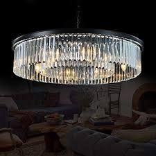 Meelighting Crystal Chandeliers Modern Contemporary Ceiling Lights Fixtures Pendant Lighting For Dining Room Living Chandelier
