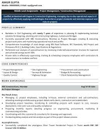 Example Of Resume Summary For Freshers Combined With Wonderful Sample Engineering On