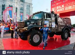 100 Master Truck Astrakhan Russia 20th July 2018 ASTRAKHAN RUSSIA JULY 20