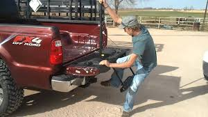 Ford EZ Step Tailgate - YouTube Best Steps Save Your Knees Climbing In Truck Bed Welcome To Replacing A Tailgate On Ford F150 16 042014 65ft Bed Dualliner Liner Without Factory 3 Reasons The Equals Family Fashion And Fun Local Mom Livingstep Truck Step Youtube Gm Patents Large Folddown Is It Too Complex Or Ez Step Tailgate 12 Ton Cargo Unloader Inside Latest And Most Heated Battle In Pickup Trucks Multipro By Gmc Quirk Cars Bedstep Amp Research