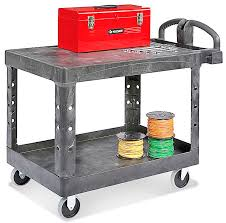 RubbermaidR Flat Shelf Carts