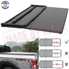 100 Waterproof Truck Bed Covers 55FT Soft TriFold Tonneau Cover For 20092014