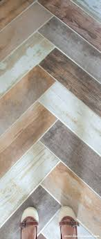 tiles grey tile faux wood adding a faux wood tile floor in the