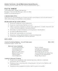 Maintenance Tech Resume Cover Letter Elegant Vet Sample Electronics Technician