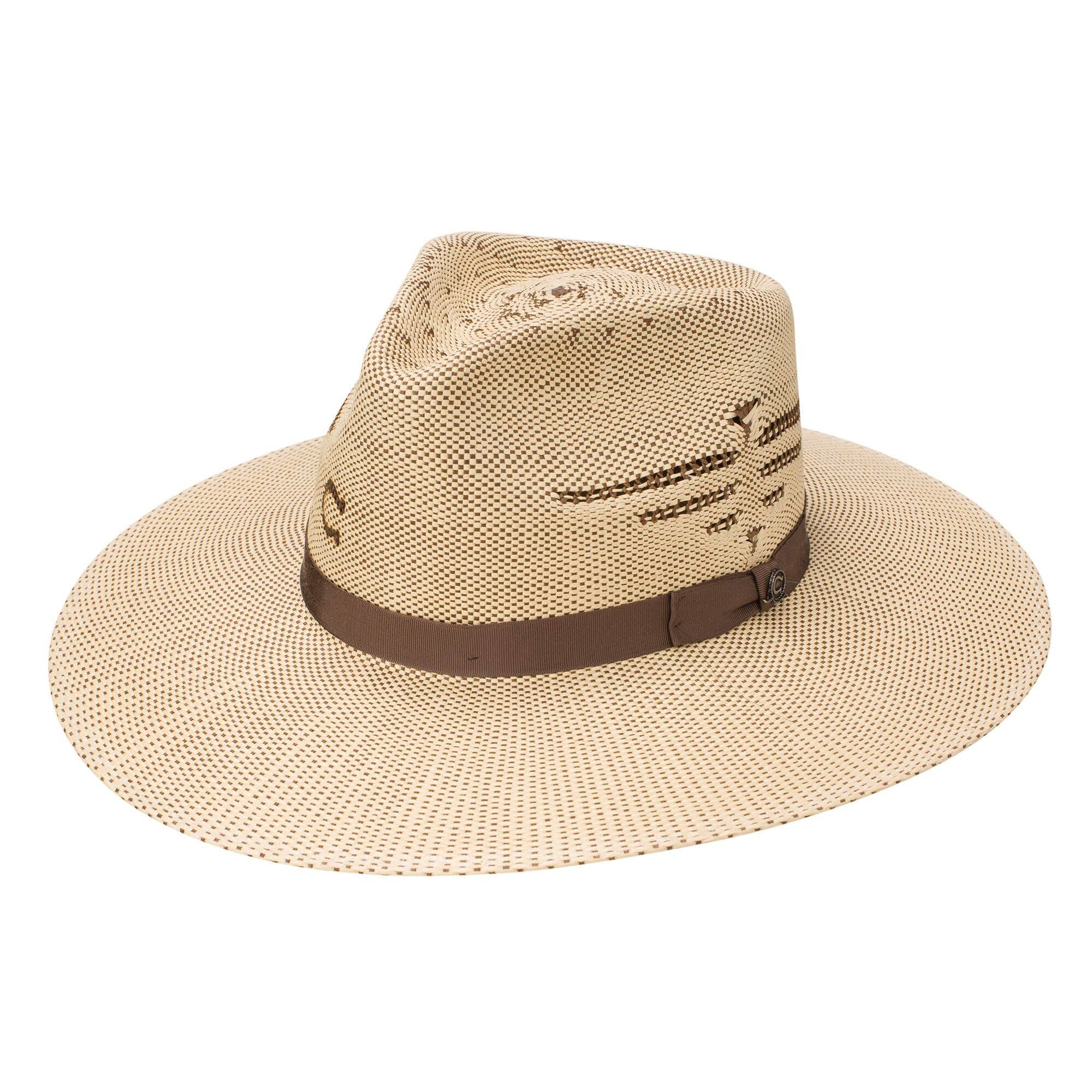Charlie 1 Horse Mexico Shore Natural Straw Hat Tan/Brown M