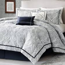 White And Black Bedding patterned comforters elegant patterned comforter king bed set and