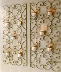 Pottery Barn Metal Wall Decor by Best 25 Wall Candle Holders Ideas On Pinterest Candle Wall