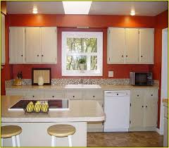 Sage Green Kitchen White Cabinets by Kitchen With White Cabinets And Red Walls Home Design Ideas