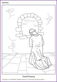 Daniel Bible Story Coloring Page
