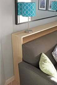 skinny sofa table to put between wall and couch would be cute