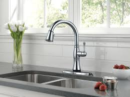 Delta Touch Faucet Replacement by Kitchen Faucets Delta Leland Kitchen Faucet Lowes Single Handle