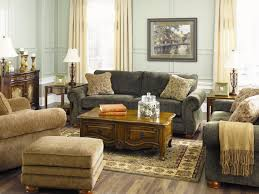 Living Room Rustic Farmhouse Brown Couch Cozy Home Paint