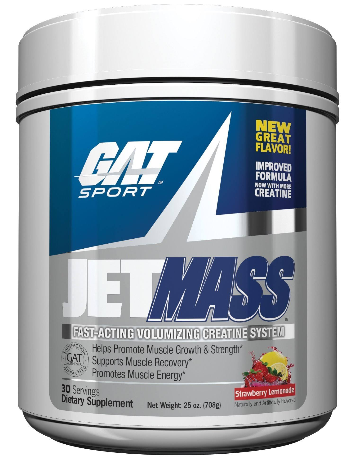 Gat JETMASS 30 Servings / Strawberry Lemonade