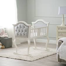 Have to have it Orbelle Lola Upholstered Cradle $364 99