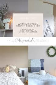 schlafzimmer makeover warme wandfarbe für mehr