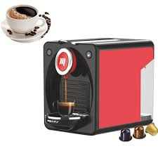 Commercial Espresso Cappuccino Coffee Machine Household Mini Automatic Nespresso Capsule Maker