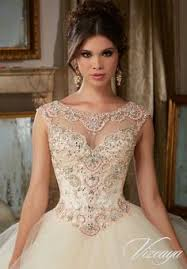quinceanera dress 89065 beading embroidery tulle ball