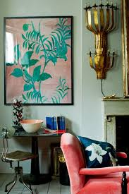 coral aqua and blue colour scheme blue living room ideas