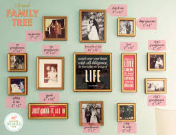 Tree Wall Decor Baby Nursery by Family Tree Of Frames Lay Baby Lay