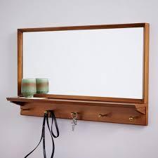 Espelho Quadrado Com Prateleira EP701 Casa A Elare