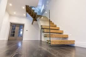 Modern Staircases, Zig-zag, Helical Stairs, Floating Staircase UK ... Stairs Dublin Doors Floors Ireland Joinery Bannisters Glass Stair Balustrades Professional Frameless Glass Balustrades Steel Studio Balustrade Melbourne Balustrading Eric Jones Banister And Railing Ideas Best On Banisters Staircase In Totally And Hall With Contemporary Artwork Banister Feature Staircases Diverso 25 Balustrade Ideas On Pinterest Handrail The Glasssmith Gallery
