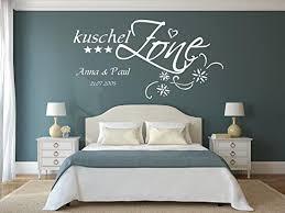 wandtattoo mit namen datum und sternen kuschelzone fürs schlafzimmer wohnzimmer 73032 140x70cm schwarz namensaufkleber wandaufkleber