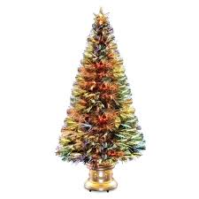 Fiber Optic Christmas Trees by Imposing Design Small Fiber Optic Christmas Tree National Company