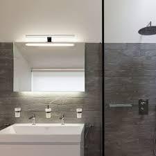 led badezimmer beleuchtung bad spiegel leuchte aufbau le ip44 schminklicht