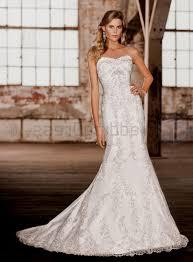 lace mermaid wedding dress sweetheart neckline naf dresses