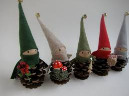 Pine Cone Christmas Tree Ornaments Crafts by Elf Crafts Pinecone Elf Ornament Diy U0026 Crafts Christmas