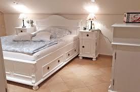 das weiße schlafzimmer massiv aus holz