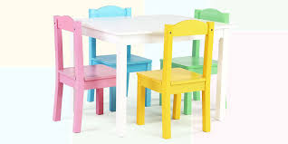 Excellent Table And Chairs For Toddler Wood Toddlers South ...
