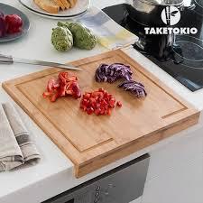 planche pour plan de travail cuisine planche à découper en bambou pour plan de travail 1 achete 1
