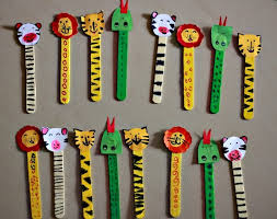 Craft Ideas For Kids With Ice Cream Sticks