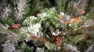 Silvertip Fir Christmas Tree Artificial by Treetime Frosted Virginia Pine Artificial Christmas Tree