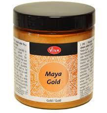 Viva Decor Inka Gold Turquoise by Maya Gold