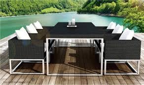 tables de jardin en resine mobilier jardin resine pas cher rustic view