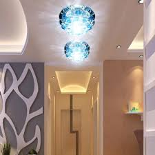 modern home chandelier lshade led hallway lights 3w